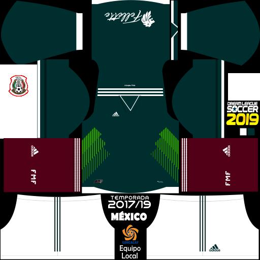 Uniformes Para Dream League Soccer 2019 Mexico